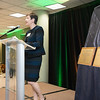 Deborah Boehm-Davis, Dean, College of Humanities and Social Sciences at the James M. Buchanan and Vernon L. Smith Dedication at George Mason University Arlington Campus.  Photo by:  Ron Aira/Creative Services/George Mason University