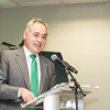 Ángel Cabrera, president, at the James M. Buchanan and Vernon L. Smith Dedication at George Mason University Arlington Campus.  Photo by:  Ron Aira/Creative Services/George Mason University