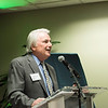 Richard Fink, Mercatus Center's Board of Directors, at the James M. Buchanan and Vernon L. Smith Dedication at George Mason University Arlington Campus.  Photo by:  Ron Aira/Creative Services/George Mason University