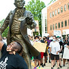 ***Editorial photos to be used for news purposes only. Not for use in marketing or advertising.<br /> <br /> Mason community marches on campus to peacefully protest on the Fairfax campus to voice their support for Black Lives Matter.  Photo by:  Ron Aira/Creative Services/ George Mason University