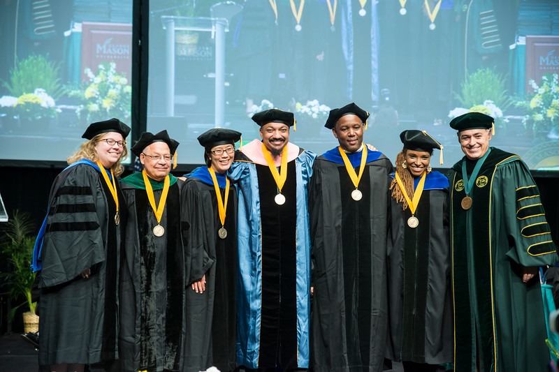 2017 Commencement, Presidential Faculty Excellence Awards