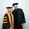 Bethany Hall-Long, Lieutenant Governor, Delaware and Board of Visitors Rector Tom Davis at Winter Graduation 2017. Photo by Bethany Camp/Creative Services/George Mason University
