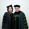 Petula C. Metzler Judge, Prince William General District Court and President Ángel Cabrera at Winter Graduation 2017. Photo by Bethany Camp/Creative Services/George Mason University