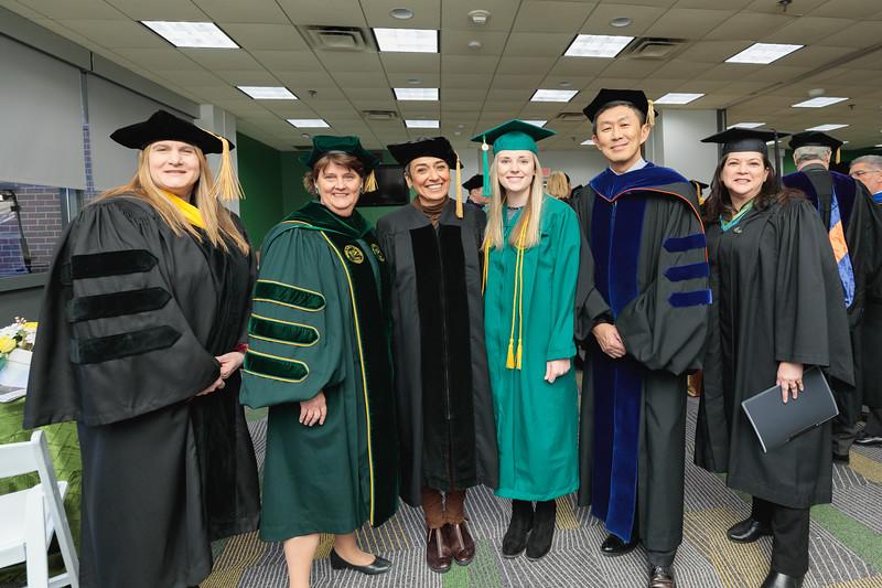 Green Room 2019 Winter Graduation morning ceremony