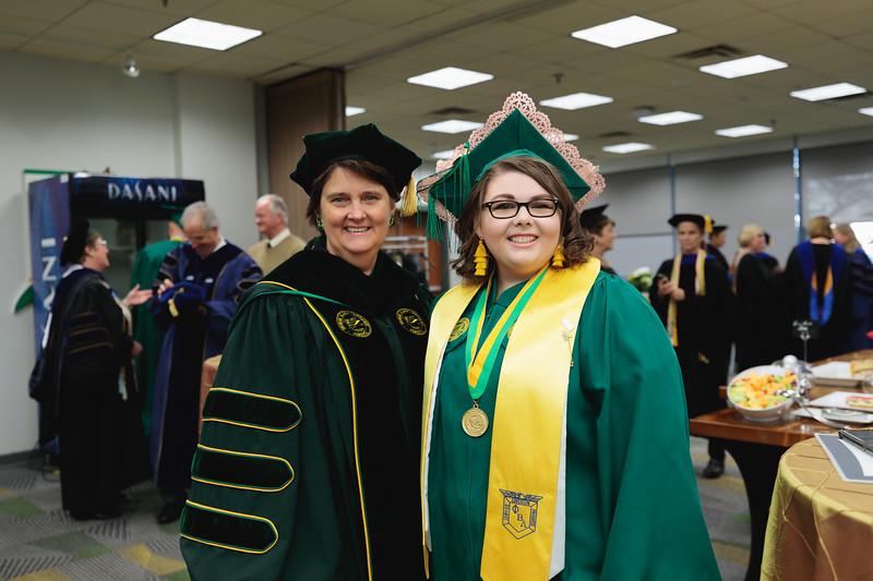 Green Room 2019 Winter Graduation afternoon ceremony