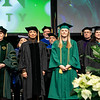 Interim President Anne Holton and guest speakers at Winter Graduation.  Photo by:  Ron Aira/Creative Services/George Mason University
