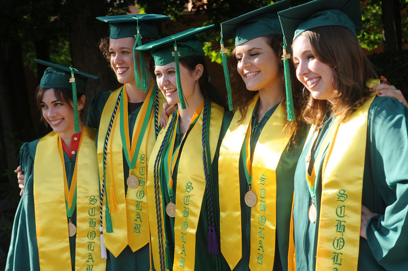 University Scholars Convocation. Photo by Evan Cantwell