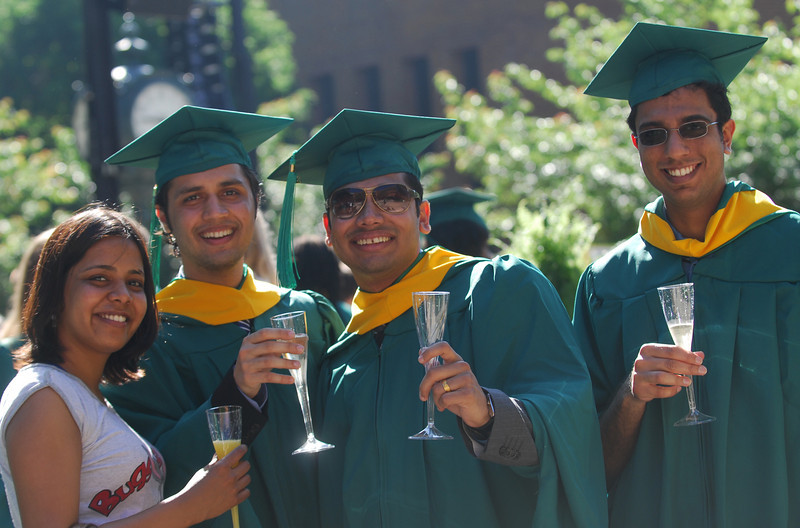 Commencement 2011. Photo by Nicolas Tan