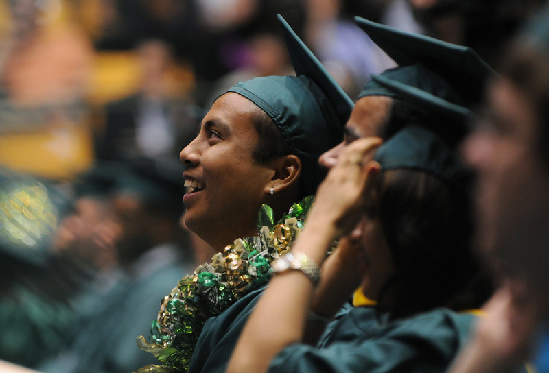 Commencement 2011. Photo by Evan Cantwell
