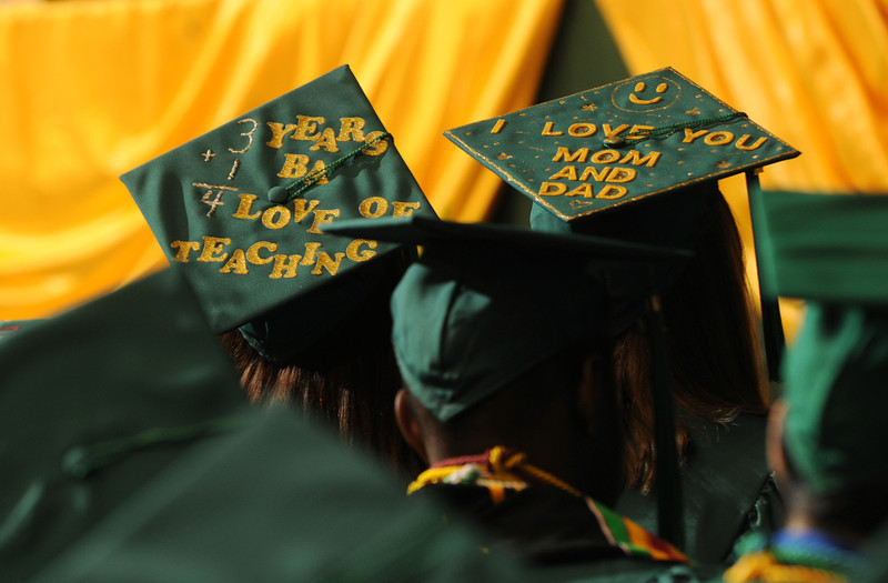 College of Humanities and Social Sciences Convocation. Photo by Evan Cantwell