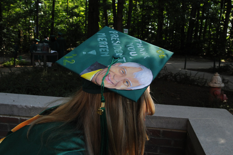 Commencement 2012. Photo by Evan Cantwell/Creative Services/George Mason University