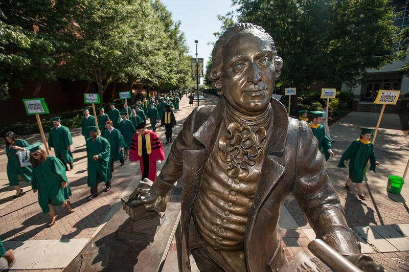 Commencement 2012. Photo by Alexis Glenn/Creative Services/George Mason University