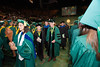 Alan and Sally Merten depart Commencement 2012. Photo by Alexis Glenn/Creative Services/George Mason University