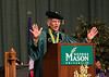 Alan Merten speaks at Commencement 2012. Photo by Alexis Glenn/Creative Services/George Mason University