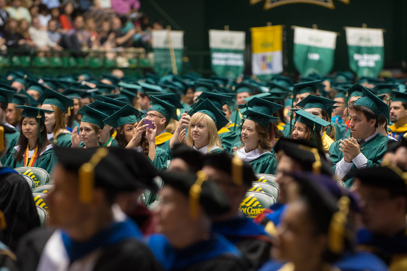 2013 Commencement ceremony at the Patriot Center