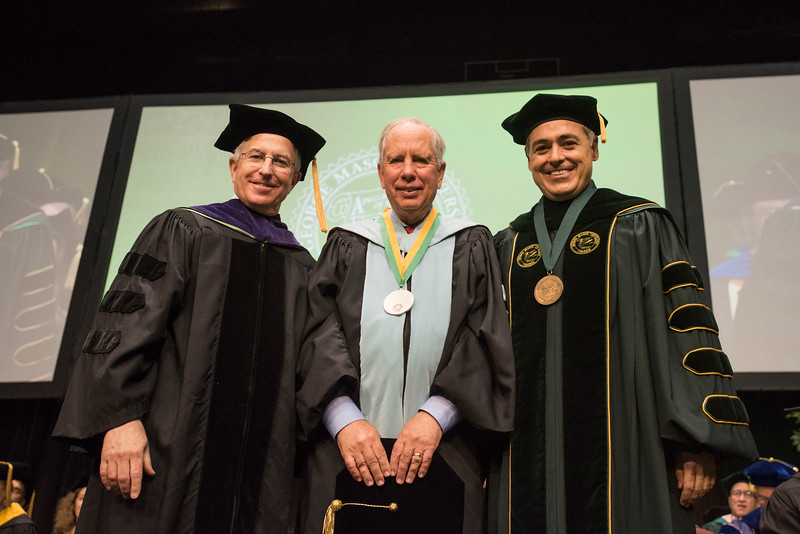 2015 Commencement Mason Medal awardee