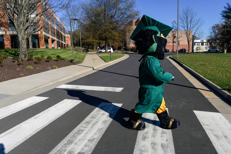 The Patriot mascot