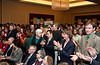 The audience applauds during the Winter Degree Recognition Ceremony at the Mason Inn, Fairfax Campus . Photo by Alexis Glenn/Creative Services/George Mason University