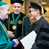 2016 Winter Graduation at the Fairfax Campus.  Photo by:  Ron Aira/Creative Services/George Mason University