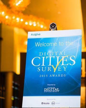 2015 Digital Cities Survey Awards