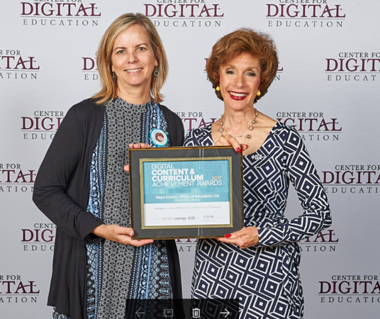 Digital Content and Curriculum Awards 2017