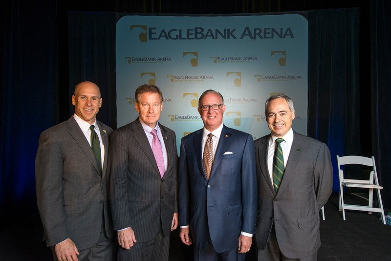 Naming of EagleBank Arena at George Mason University