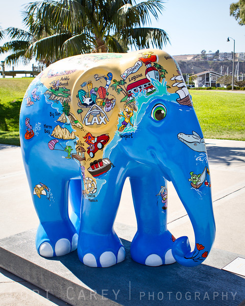 Elephant Parade: Welcome to America<br /> Zia Skye by Laura Inkster-Gabor<br /> Dana Point, California, USA<br /> <br /> Elephant Parade is an open air art exhibition designed to raise public awareness and support for the cause of elephant conservation. Making their first US appearance thirty life-sized baby elephants will be on display throughout Dana Point from August 23 through November 7 2013.