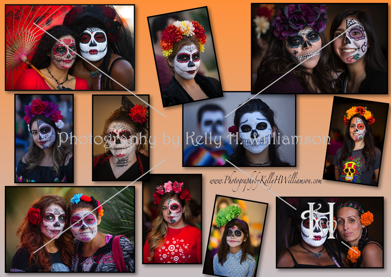 DAY OF THE DEAD - collage_wm