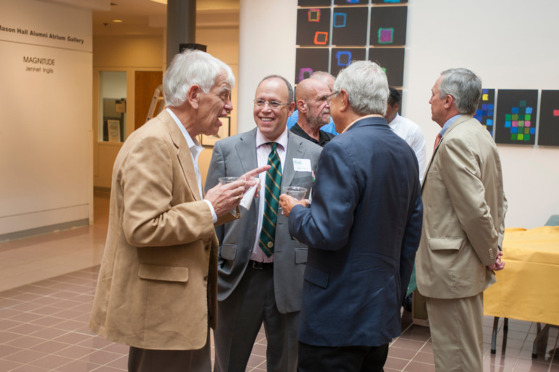 Distinguished Faculty Reception