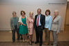 (L to R) New inductees Donna Sterling, Janine Wedel, Laurie Robinson, Daniel Menasce, Linda Miller, and Linda Schwartzstein attend the Distinguished Faculty Reception. Photo by Alexis Glenn/Creative Services/George Mason University