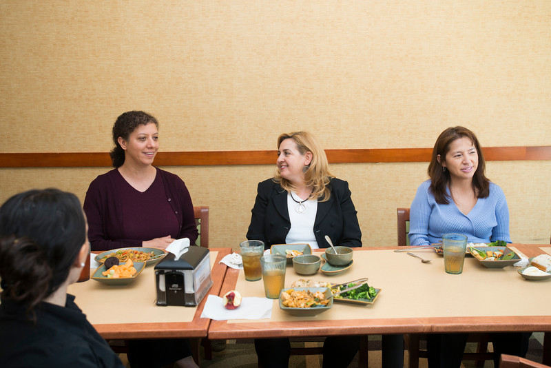 Working Dads and Working Moms Lunch Groups