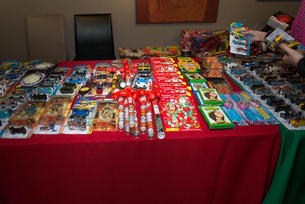 Vernon Davis Toy Drive Event 2013