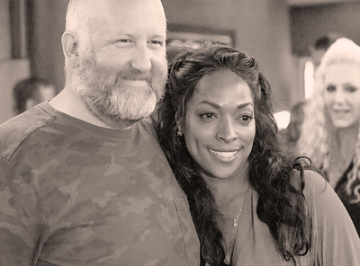 Kellita Smith and a Happy Fan