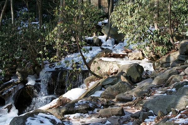 Glen Onoko Falls 1/16/2010