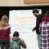 Students celebrate Good Deeds Day in Fairfax Campus.  Photo by:  Ron Aira/Creative Services/George Mason University