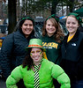 Students attend the Mason Homecoming 2012 tailgate party at Fairfax Campus. Photo by Alexis Glenn/Creative Services/George Mason University