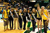 The Homecoming Court attend the Mason Homecoming 2012 basketball game at the Patriot Center, Fairfax Campus. Photo by Alexis Glenn/Creative Services/George Mason University
