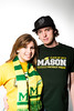 Mason Fanatics at the 2013 Mason Homecoming. Photo by Alexis Glenn/Creative Services/George Mason University