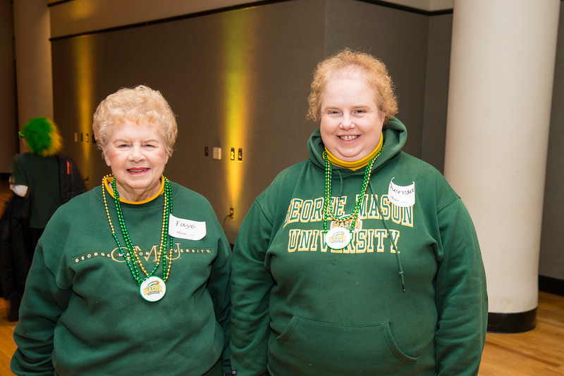 The alumni tent moved to the Johnson Center for Homecoming 2016.  Photo by Ron Aira/Creative Services/George Mason University
