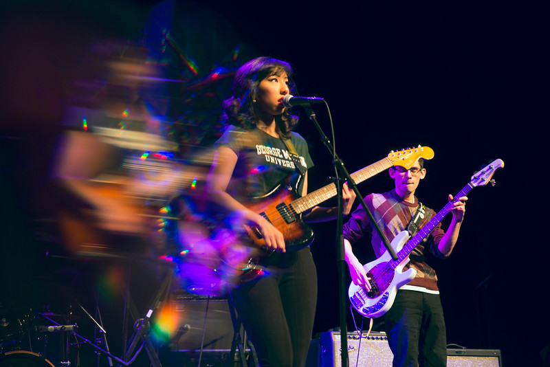 Cinema Hearts perform at George Mason's first Homecoming concert opening for Cold War Kids. Photo by Bethany Camp/Creative Services/George Mason University
