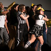 Student organizations compete in a Lip Sync Battle as part of Homecoming Week 2018. Photo by Bethany Camp/Creative Services/George Mason University