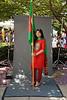 Nabila Hossain, International Week portraits on Fairfax Campus. Photo by Alexis Glenn/Creative Services/George Mason University