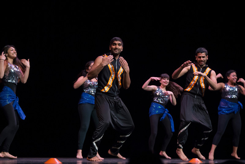 Students participated in the annual dance competition for International Week at the Center for the Arts. Photo by Craig Bisacre/Creative Services/George Mason University
