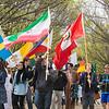 International Week Parade.  <br /> Photo by Ron Aira/Creative Services/George Mason University