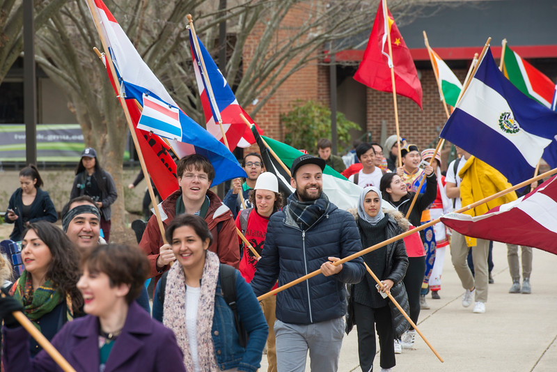 International Flag Parade