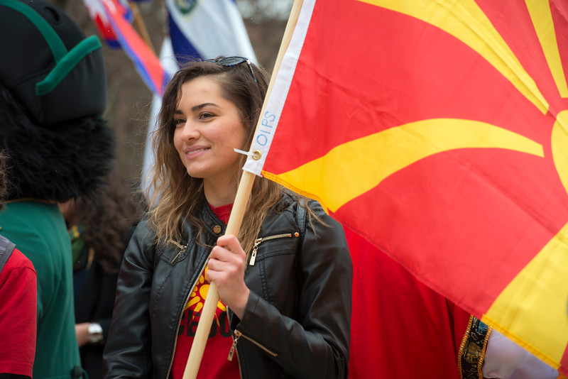 International Flag Parade