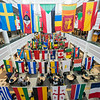 Johnson Center International Week Flags