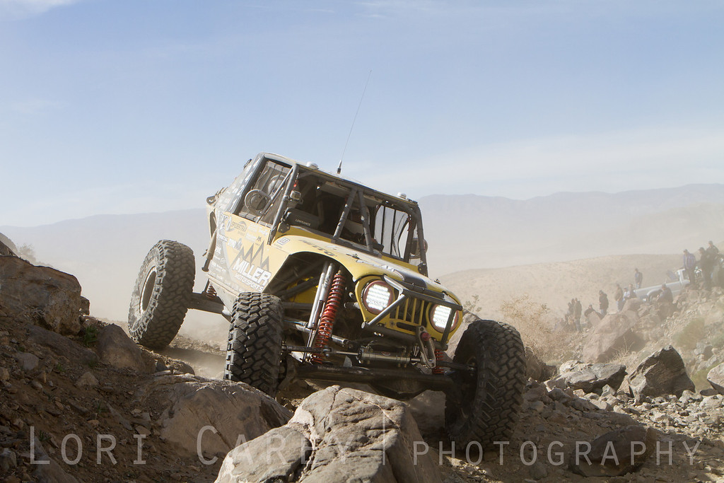 Erik Miller on Wrecking Ball, 2014 King of the Hammers off road race