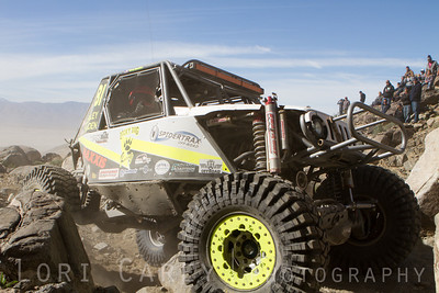 Levi Shirley on Wrecking Ball, 2014 King of the Hammers