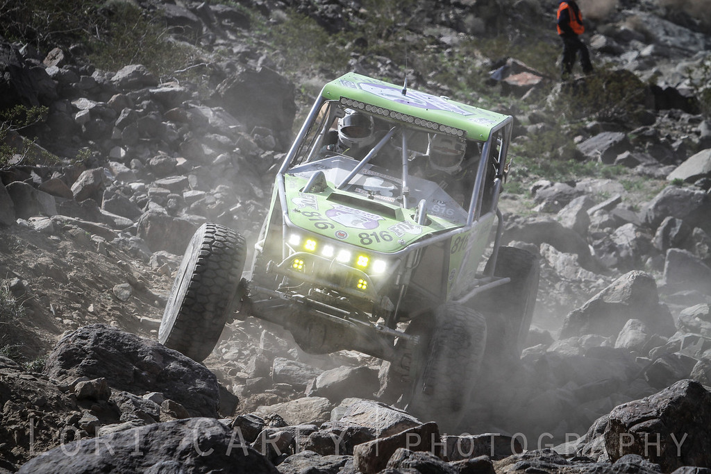 Lucas Murphy on Wrecking Ball, 2014 King of the Hammers